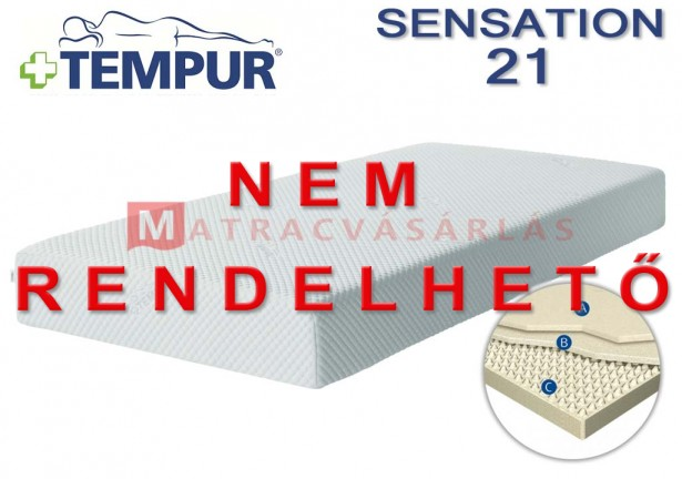tempur sensation 21 memoryfoam matrac matrac web ruh z. Black Bedroom Furniture Sets. Home Design Ideas