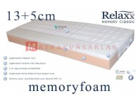 Relaxx memory classic 13+5cm memory 50kg/m3