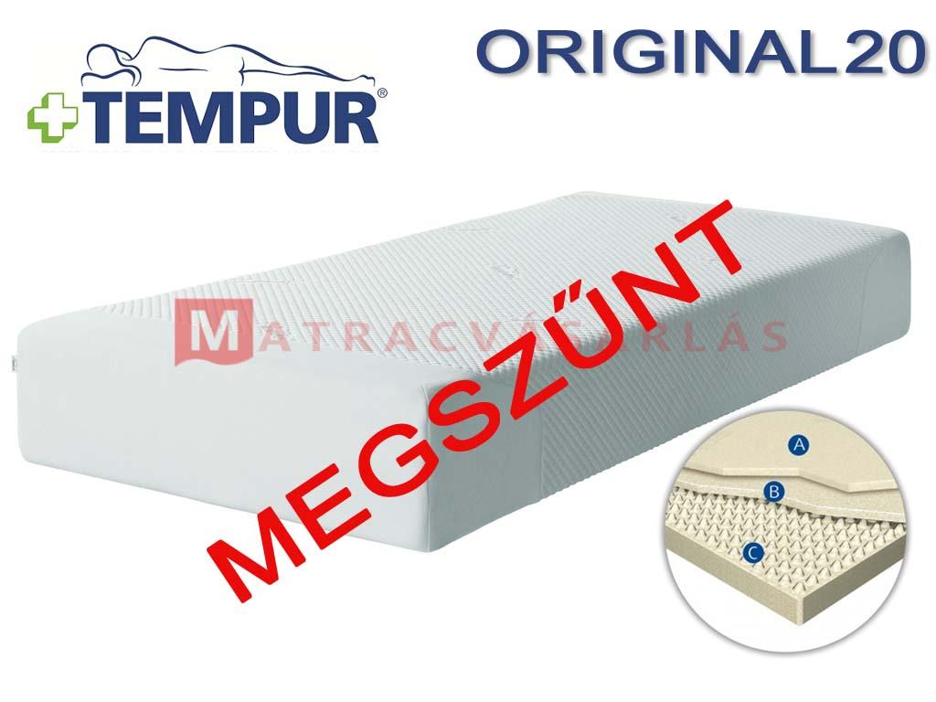 tempur original 20 visco matrac matrac web ruh z. Black Bedroom Furniture Sets. Home Design Ideas