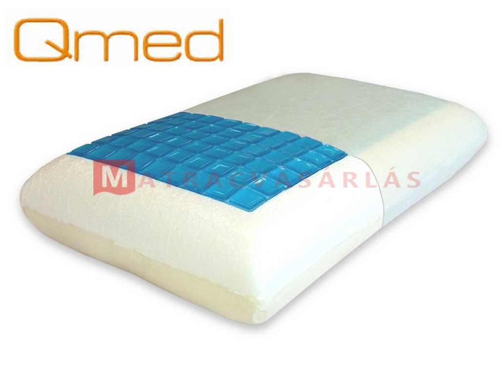 Qmed Comfort Gél memory gél párna - Matrac webáruház fdfaea7d97