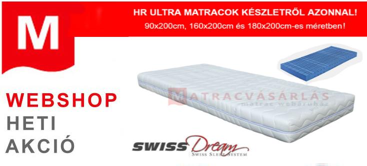 HR Ultra matracok a készlet erejéig!