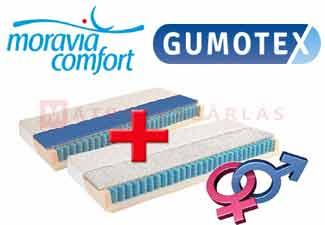 Gumotex Vanessa táskarugós matrac memory-latex réteggel