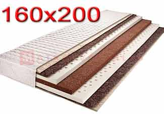 Kókusz matrac 160x200. 160x200 méretű kókuszmatracok