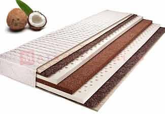 Kókuszmatrac, matracok kókusz felhasználásával