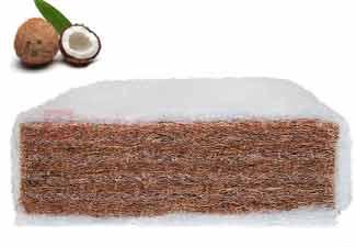 Kókuszos matracok természetes kókusz réteggel