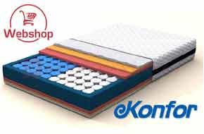 Konfor matrac webáruház, Konfor matrac rendelés