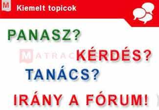 Matrac fórum: kérdések-válaszok