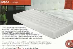 TED Wooly matrac gyapjú réteggel a téli oldalon