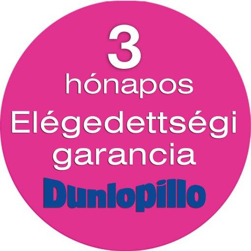 Dunlopillo matracok cseregaranciával
